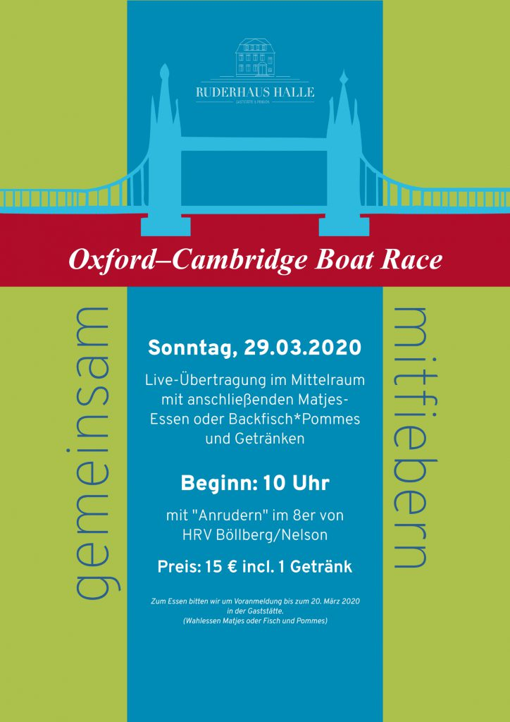 Oxford–Cambridge Boat Race